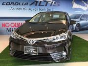 Bảng giá xe Toyota Altis 2019 lăn bánh, hỗ trợ trả góp lãi suất hấp dẫn