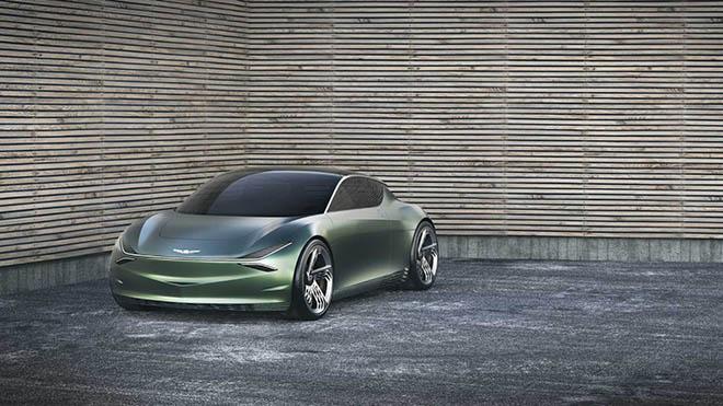 Genesis Mint - Concept xe điện thiết kế dạng cánh ở cửa phụ đầy khác lạ và độc đáo - 1