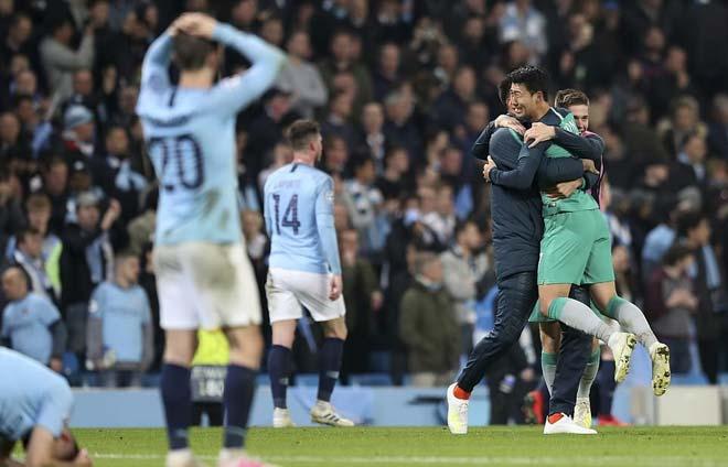 """Man City lo """"thảm họa kép"""": Run rẩy trước """"gọng kìm"""" Tottenham - MU - 1"""