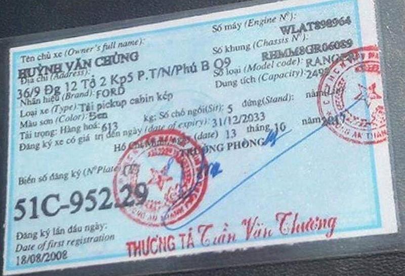 Sở Giao thông TP.HCM thông tin về bằng của người ép xe CSGT - 2