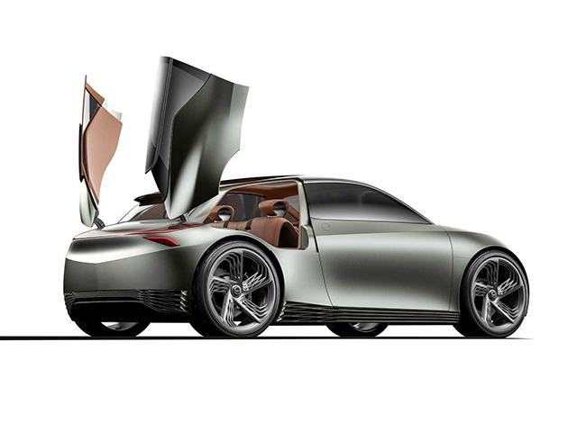 Genesis Mint - Concept xe điện thiết kế dạng cánh ở cửa phụ đầy khác lạ và độc đáo