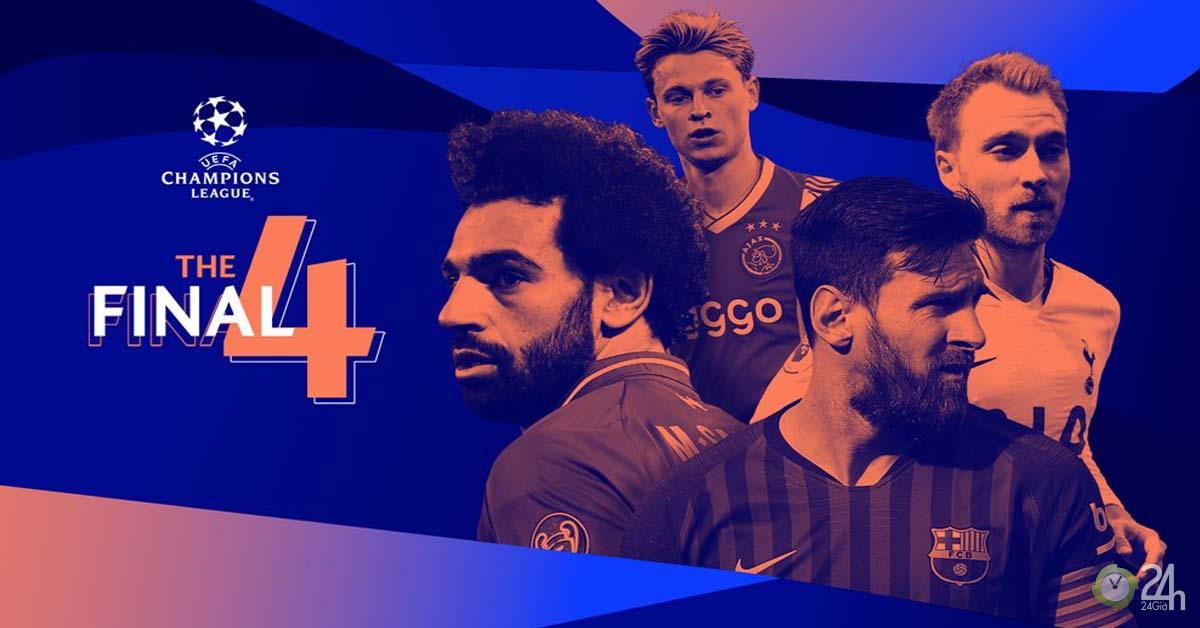 Rực lửa 4 đội bán kết Cúp C1: Barca, Liverpool sáng cửa vô địch nhất?