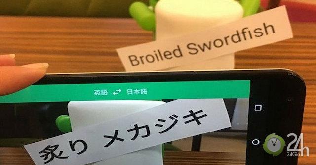 Mẹo dùng Google Dịch khi du lịch nước ngoài