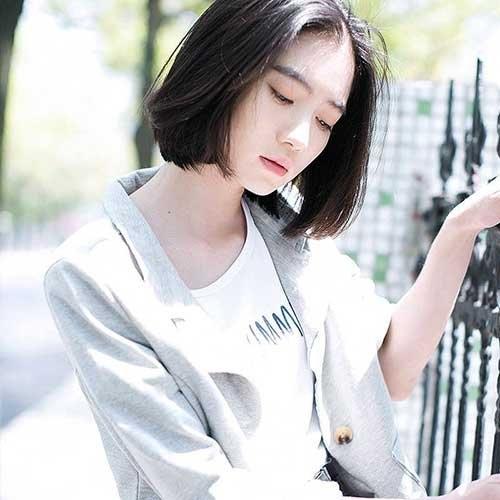 Những kiểu tóc ngắn đẹp và trẻ trung chào hè 2019 - 8