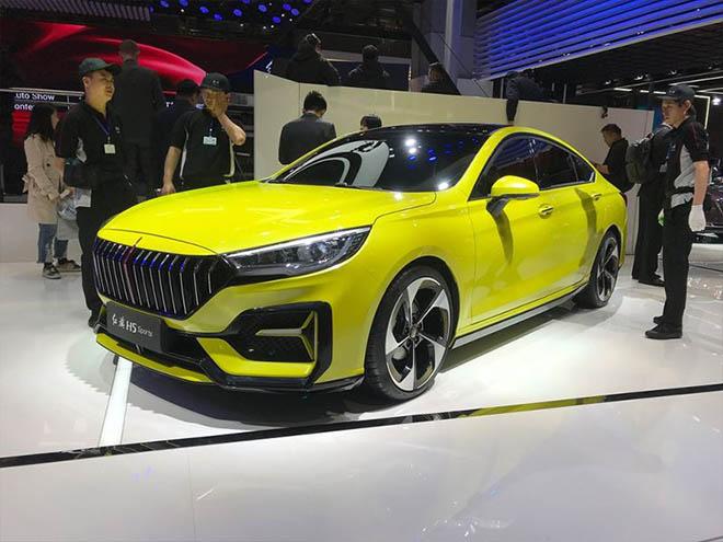 Hãng xe Trung Quốc chào hàng mẫu xe thể thao Hongqi H5 Sports tại Shanghai auto show - 1