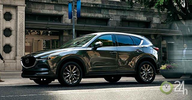 Chiêm ngưỡng Mazda CX-5 Signature phiên bản máy dầu với dẫn động bốn bánh AWD đầy đột phá