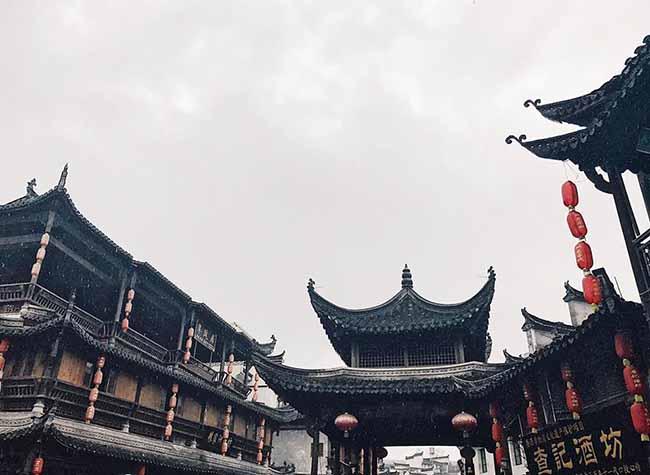 Đâu chỉ có Phượng Hoàng cổ trấn, Trung Quốc còn có Vụ Nguyên đẹp như một giấc mơ - 17