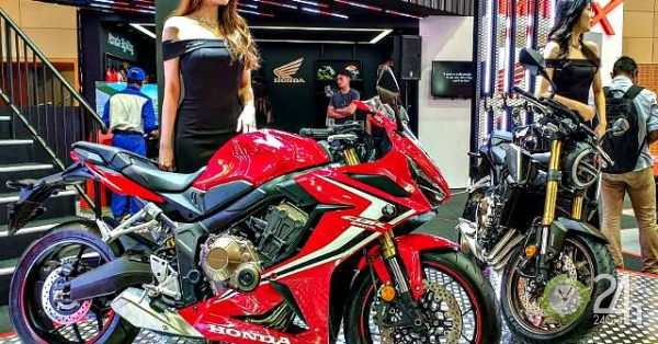 Cận cảnh môtô tầm trung 2019 Honda CBR650R hút phái mạnh