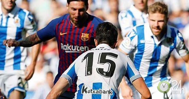 Trực tiếp bóng đá Barcelona - Real Sociedad: Tự tin hướng đến chiến thắng