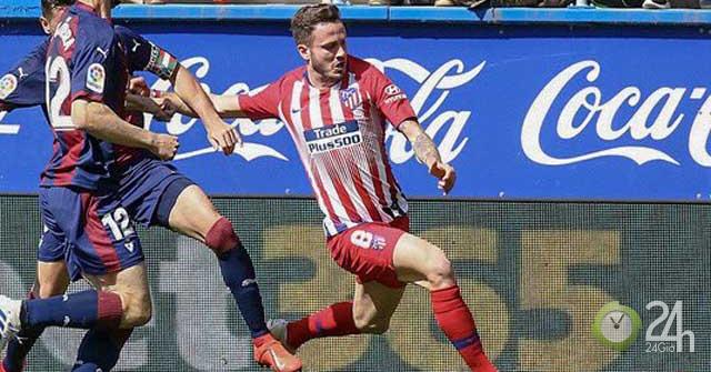 Video, kết quả bóng đá Eibar - Atletico Madrid: Siêu dự bị tỏa sáng, vỡ òa phút 85