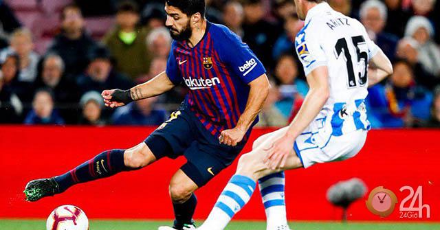 Video, kết quả bóng đá Barcelona - Real Sociedad: Messi ẩn mình, người hùng bất ngờ