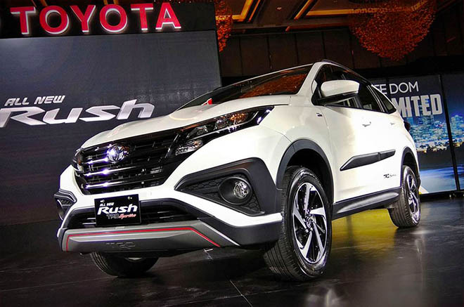 Xe Toyota Rush 2019 - Mua xe SUV giá tốt, hỗ trợ trả góp lãi suất ưu đãi - 2