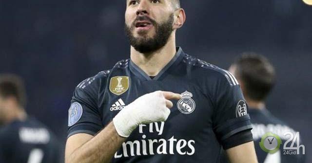 Benzema, số 9 hay nhất thế giới: Không Ronaldo, gánh cả Real