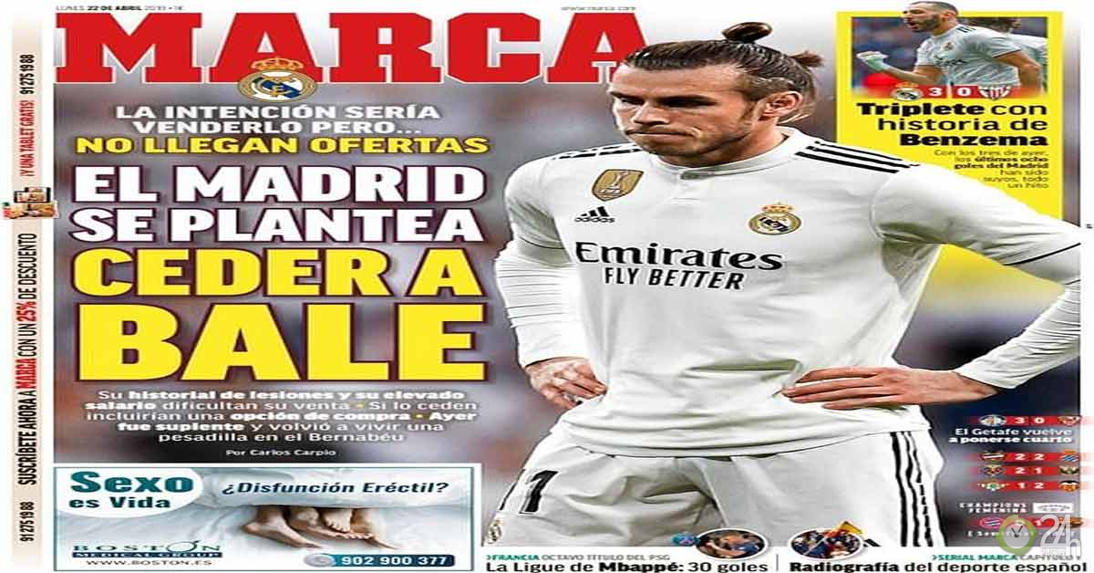 Gareth Bale khốn cùng tại Real: MU quay lưng, đại hạ giá mùa hè