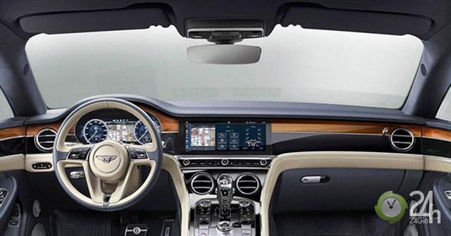 Bentley Continental GT đứng đầu bảng bình chọn khoang nội thất đẹp nhất 2019