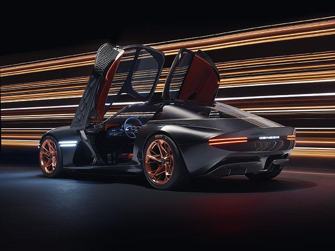 Genesis Essentia concept cấu hình đa mô tơ điện trên, dự kiến ra mắt 2021 - 1