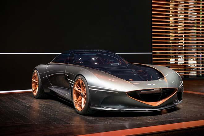 Genesis Essentia concept cấu hình đa mô tơ điện trên, dự kiến ra mắt 2021 - 2