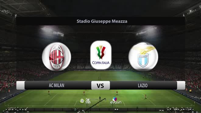 Highlight: AC Milan vs Lazio