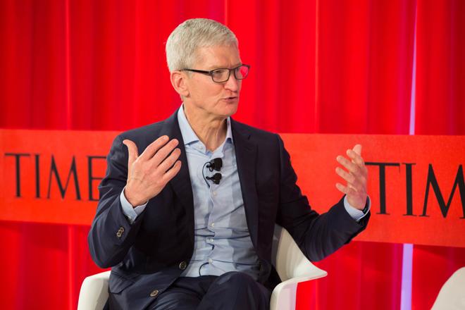 """Sốc: CEO của Apple khuyên người dùng bớt """"nghiện"""" iPhone - 1"""