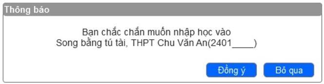 Chi tiết cách nhập học trực tuyến vào lớp 10 THPT ở Thủ đô - 4