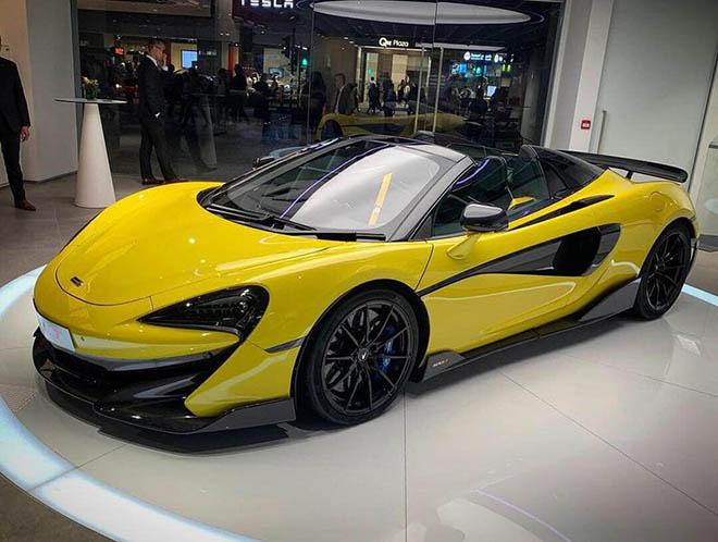 Siêu phẩm McLaren 600LT Spider chào sân các Đại gia Hồng Kông với giá khởi điểm 4,97 triệu đô - 1