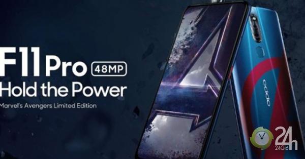 Oppo F11 Pro Avengers đã được