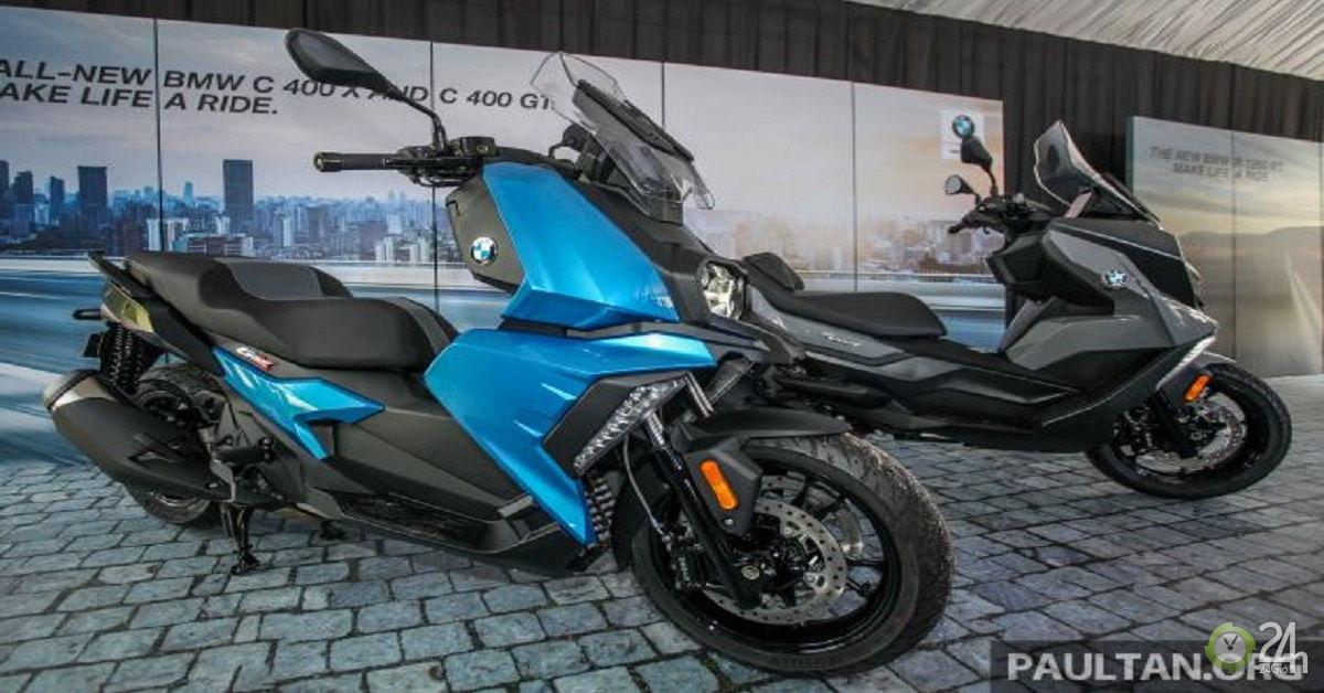 BMW Motorrad C 400 X và C 400 GT 2019
