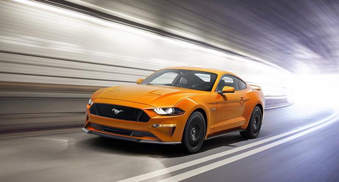 Chiêm ngưỡng Ford Mustang 2018 màu cam Fury duy nhất tại Việt Nam - 1