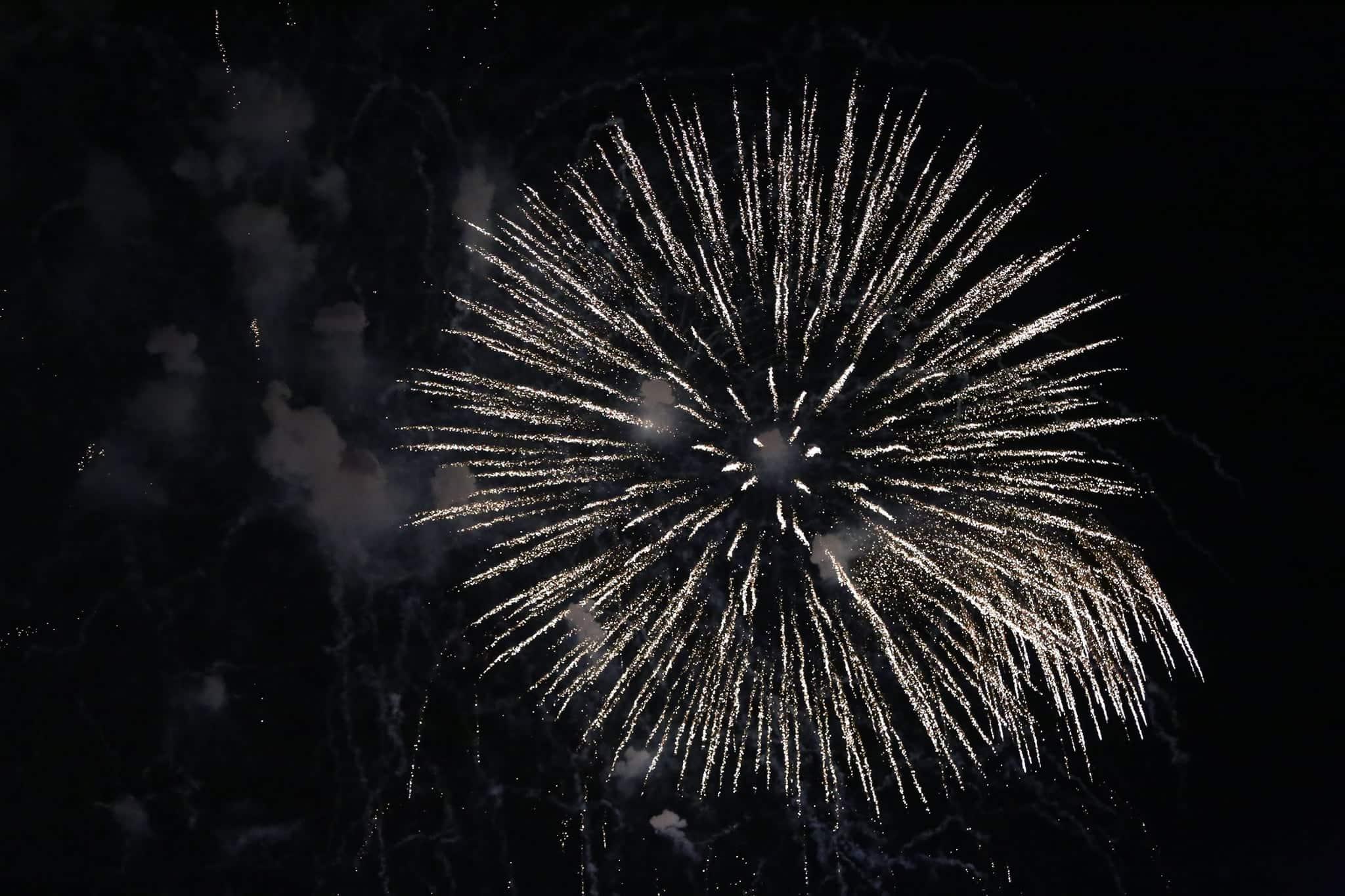Pháo hoa rực sáng đẹp hút hồn trên bầu trời Sài Gòn, ngàn người vỗ tay tán thưởng - 6