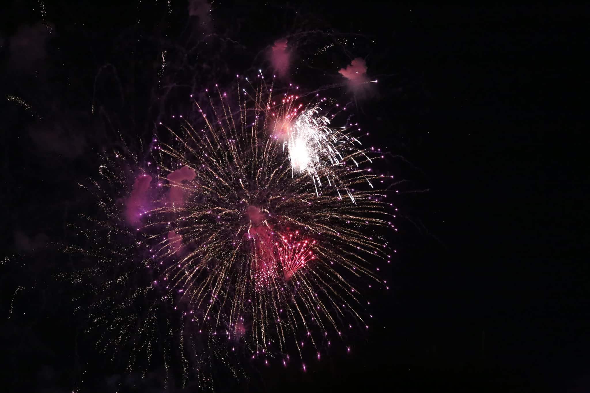Pháo hoa rực sáng đẹp hút hồn trên bầu trời Sài Gòn, ngàn người vỗ tay tán thưởng - 5