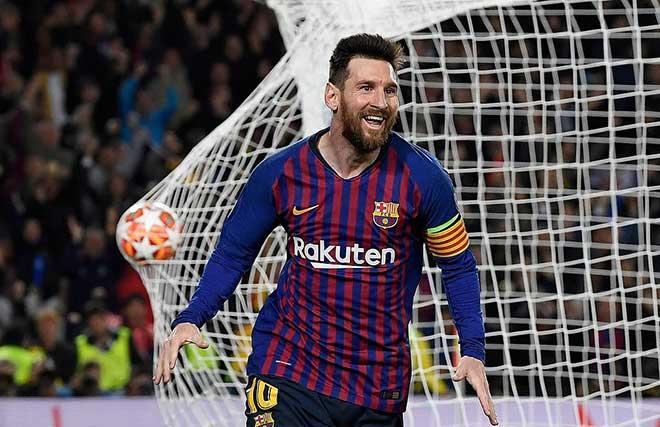 """Messi chạm mốc 600 bàn: Bùng nổ 7 phút, ghi kiệt tác """"tên lửa"""" hủy diệt Liverpool - 1"""