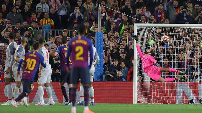 """Messi chạm mốc 600 bàn: Bùng nổ 7 phút, ghi kiệt tác """"tên lửa"""" hủy diệt Liverpool - 3"""