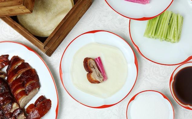 Cách ăn vịt quay Bắc Kinh chuẩn phong cách hoàng gia - 9