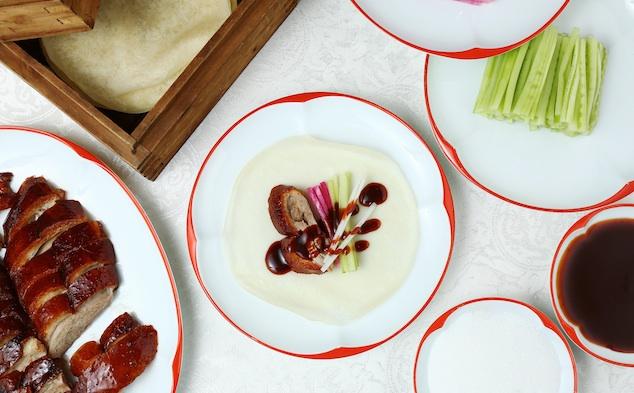 Cách ăn vịt quay Bắc Kinh chuẩn phong cách hoàng gia - 11