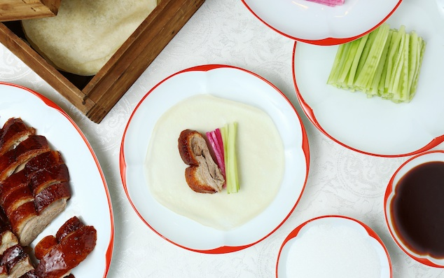 Cách ăn vịt quay Bắc Kinh chuẩn phong cách hoàng gia - 10
