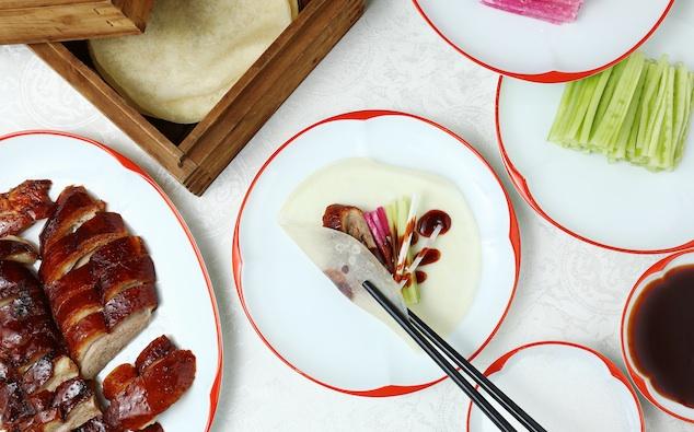 Cách ăn vịt quay Bắc Kinh chuẩn phong cách hoàng gia - 12