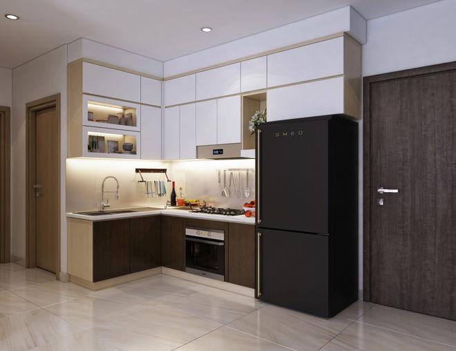 Không gian sang trọng, hiện đại qua việc thiết kế căn hộ nhỏ 55m2 - 3