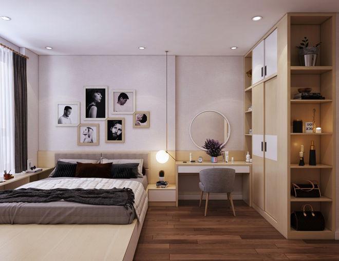 Không gian sang trọng, hiện đại qua việc thiết kế căn hộ nhỏ 55m2 - 4
