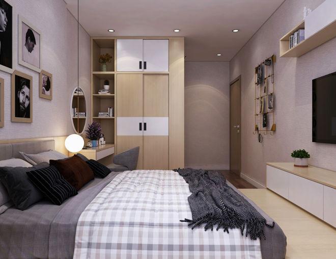 Không gian sang trọng, hiện đại qua việc thiết kế căn hộ nhỏ 55m2 - 5