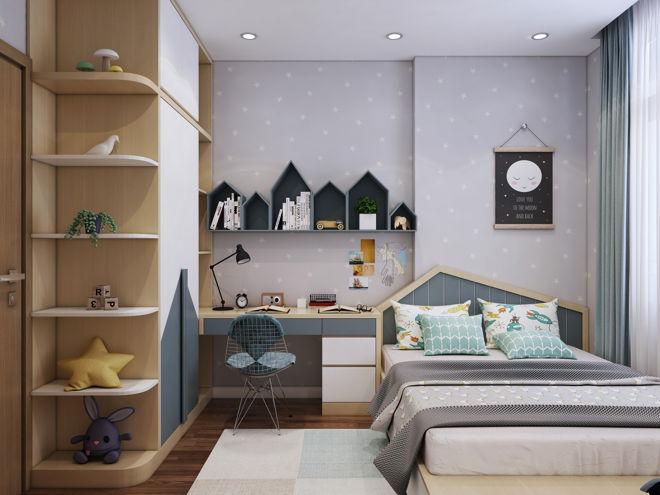 Không gian sang trọng, hiện đại qua việc thiết kế căn hộ nhỏ 55m2 - 6