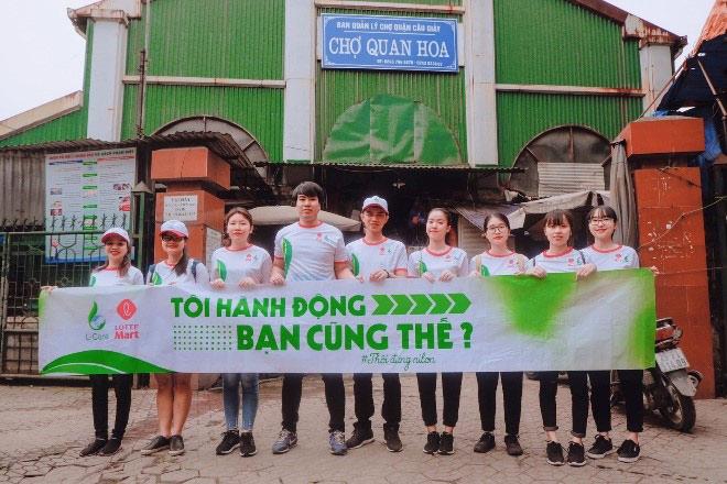 Siêu thị khởi động chiến dịch xanh vì môi trường - 4