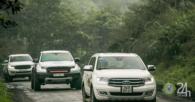 Ford ghi nhận doanh số bán lẻ tăng
