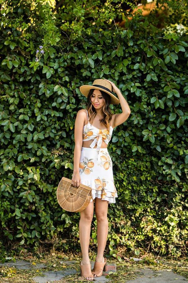 Thời trang mùa hè không thể rực rỡ hơn với đủ món trái cây nhiệt đới - 4