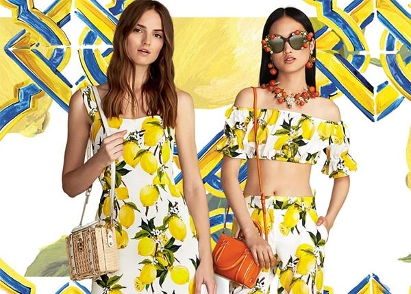 Thời trang mùa hè không thể rực rỡ hơn với đủ món trái cây nhiệt đới - 1
