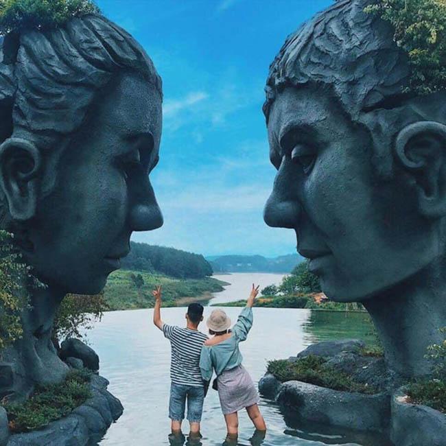 Xuất hiện hồ vô cực ở Đà Lạt khiến dân tình 'rần rần' rủ nhau đến check-in - 3