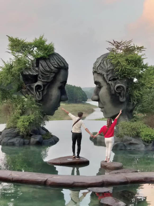 Xuất hiện hồ vô cực ở Đà Lạt khiến dân tình 'rần rần' rủ nhau đến check-in - 4