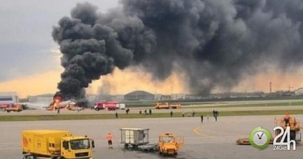 Người bên trong máy bay Nga cháy: Cảnh tượng như địa ngục