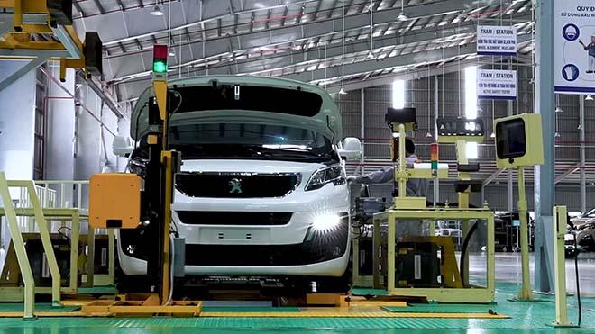 Hình ảnh nhà máy sản xuất xe du lịch mới của THACO, nơi lắp MPV Traveller - 1