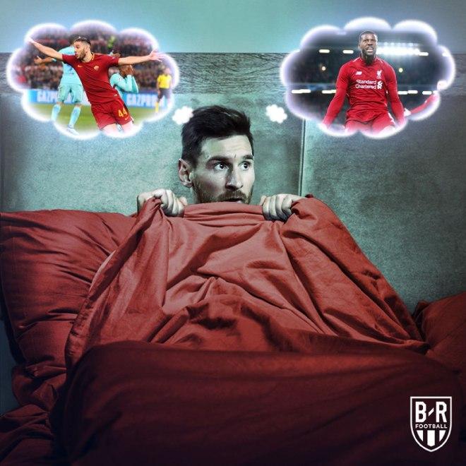 """Messi """"thảm họa"""" bán kết cúp C1: Lung lay cơ hội đoạt Quả bóng vàng - 1"""