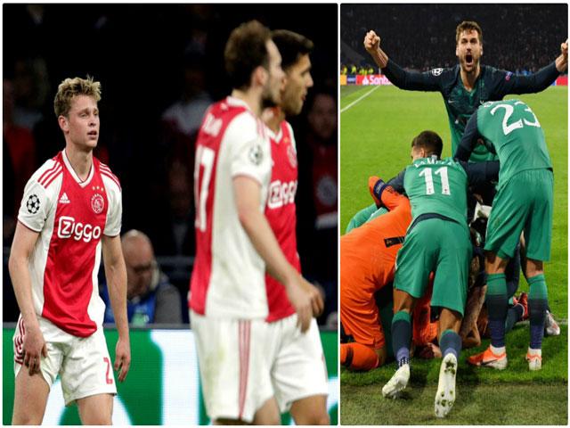 Tottenham may mắn vào chung kết C1: Liverpool có ngây thơ như Ajax?